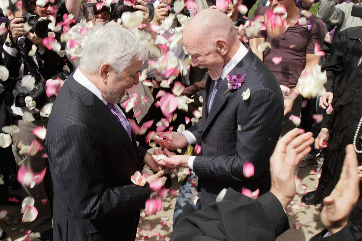 Illinois Same-Sex Wedding Photography: Chicago Gay Wedding Photography flowers