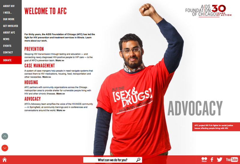 AIDS Foundation of Chicago Commercial Portrait Photos for Their New Website & Annual Report