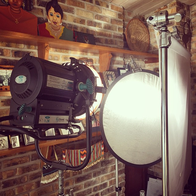 Behind the scenes Chicago video production company