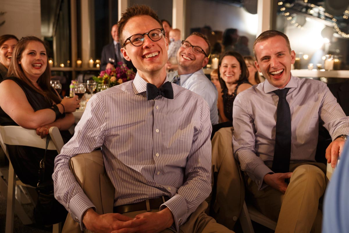 Illinois LGBT Wedding Photography gay wedding reception at the Peggy Notebaert Nature Museum in Chicago
