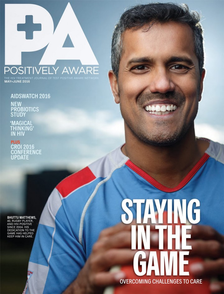 Positivly Aware Magazine Cover Chicago HIV AIDS