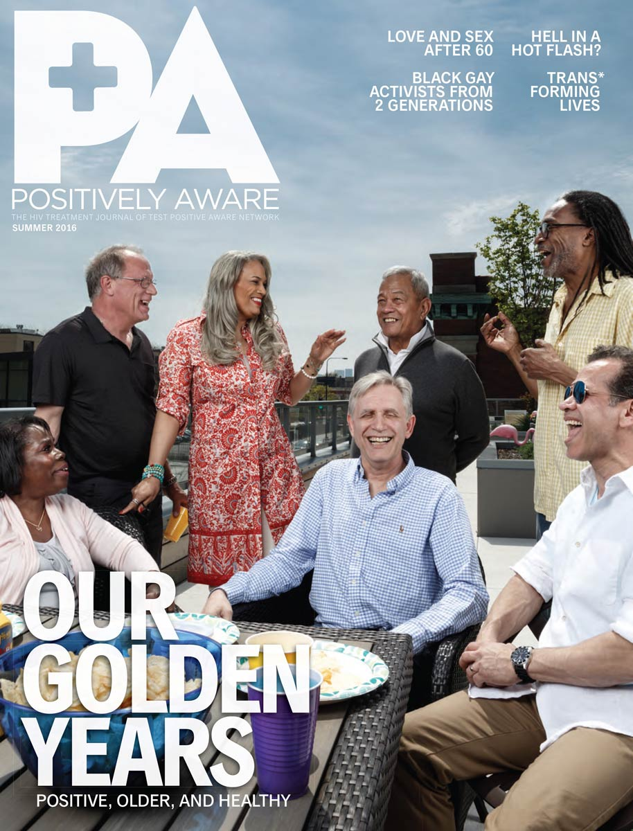 Chicago Magazine Photographer outdoor lifestyle portrait for a magazine cover Positivly Aware Aging With HIV