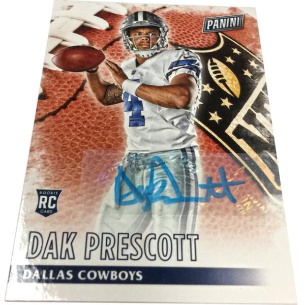 Dak Prescott Dallas Cowboys 2016 Portrait Plus Composite Photo 8 x 10