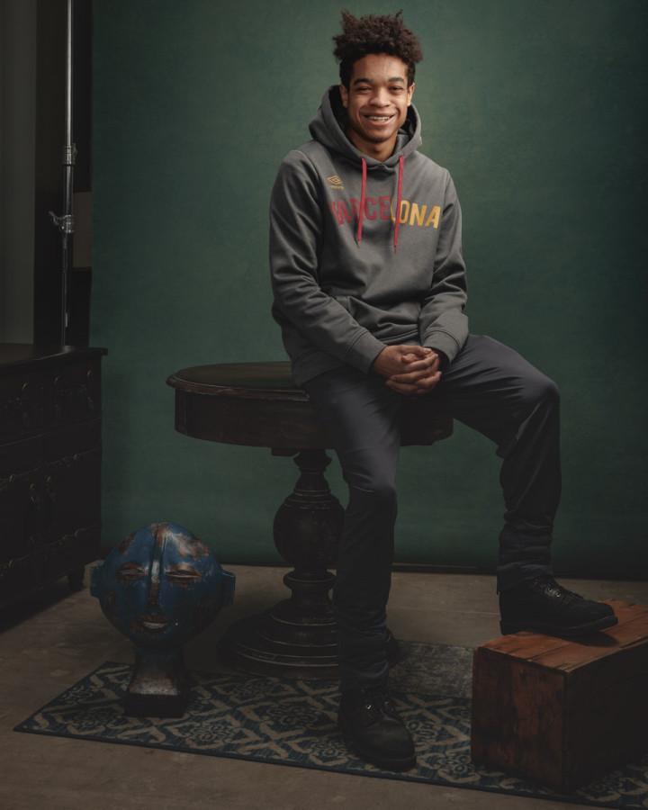 Chicago portrait photographer canvass backdrop
