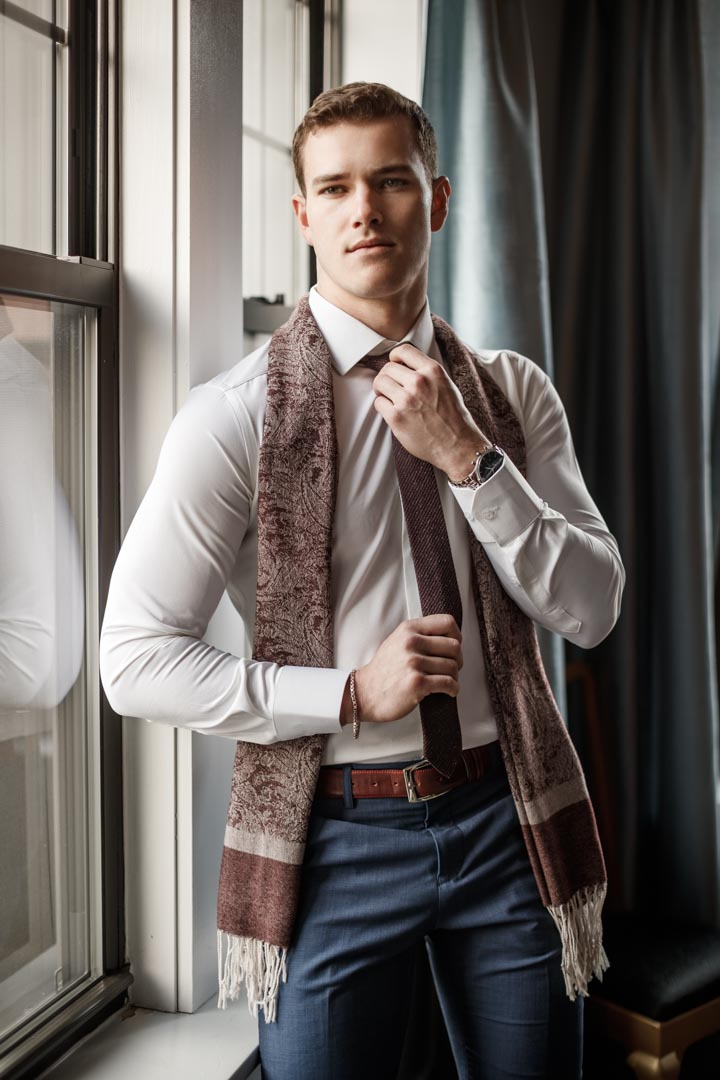 Chicago headshot photographer Factor Chosen Model Jefferson West