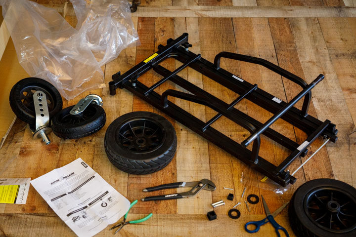 Assembling the RocknRoller Multi-Cart R12STEALTH