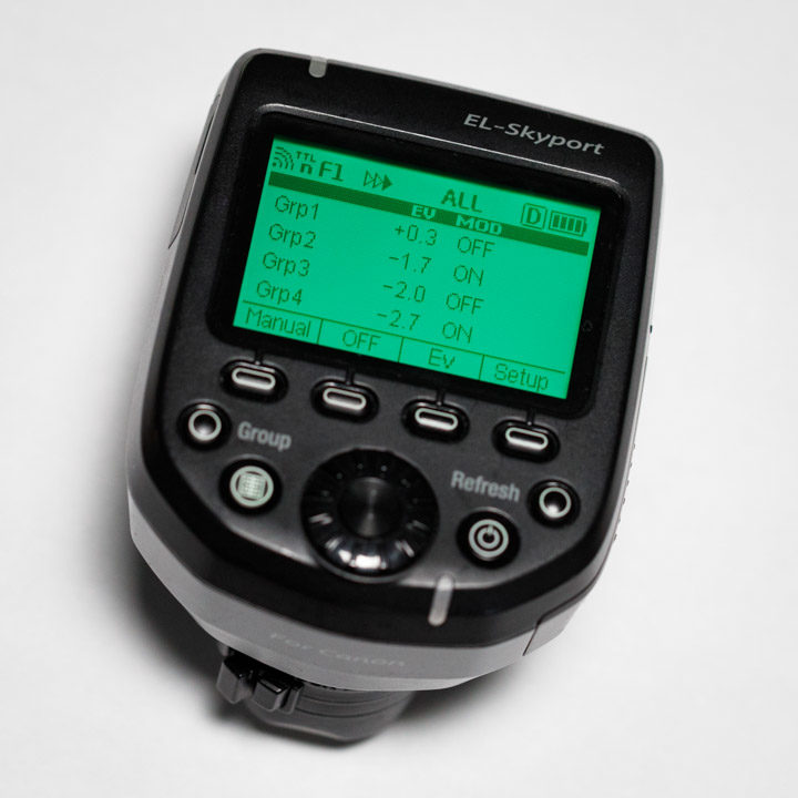 Elinchrom Transmitter Pro for Canon