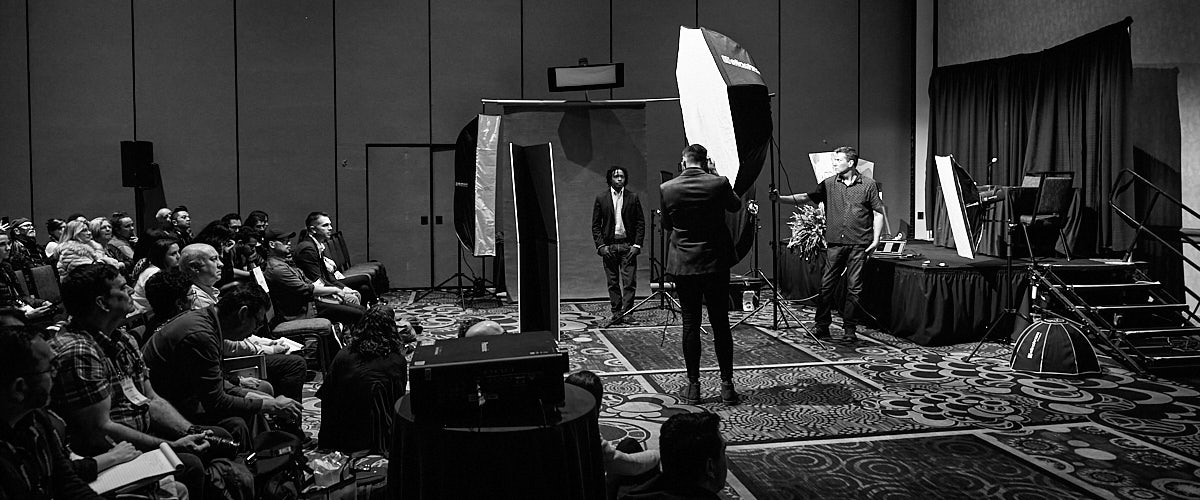 WPPI lighting class photography convention